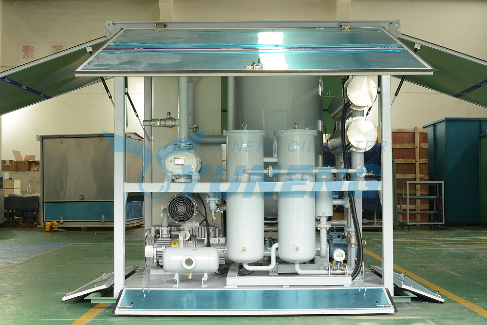 Factory Sales Price Double Stage Vacuum Transformer Oil Purifier