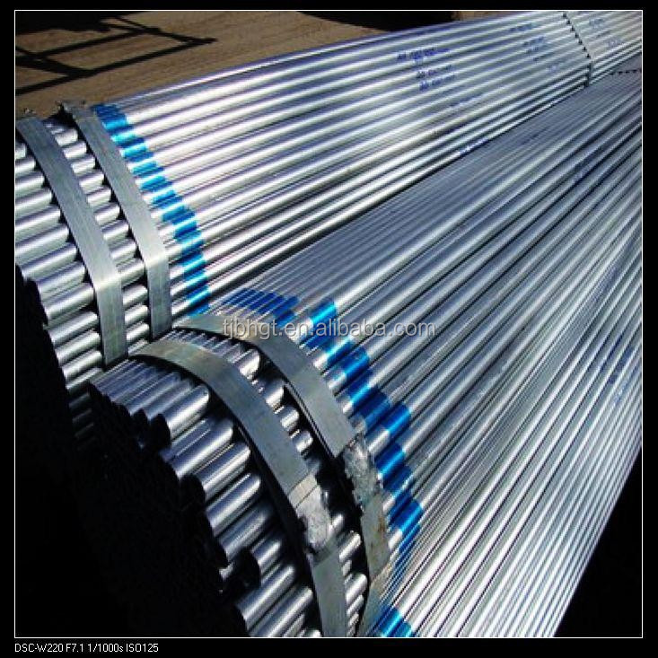 hot dip galvanized pipe conduit emt