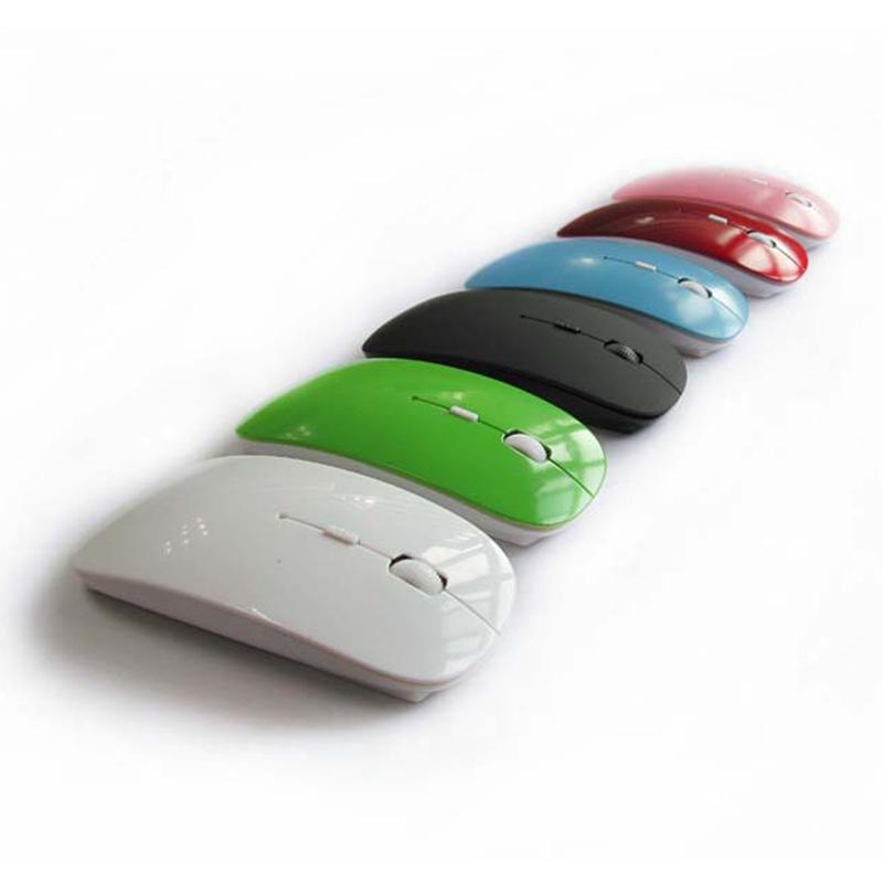 2 4g souris de jeu gamer sans fil souris ultra mince souris pour ordinateur portable ordinateur