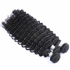 100% natural brazilian hair weave virgin cuticle aligned kbl raw deep wave hair free sample hair bundles