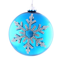 plastic christmas ball ornaments with DIY stickers