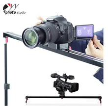 "Black 60/80/100/120/150cm 24"" DSLR Video Camera Slider"
