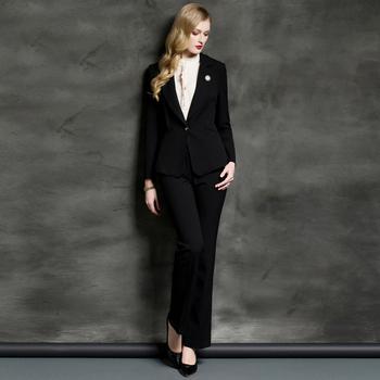 2017 Neue Mode Business Kleidung Fur Frauen Arbeiten Uniform Design