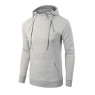 Side Zipper Bulk Men Oem Plain Hoodies Tall Sweatshirt Hoodie