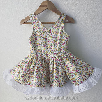 591c89258 V Neck Pari Dress For Baby Girl Floral 2017 Baby Girl Party Dress Children  Frocks Designs