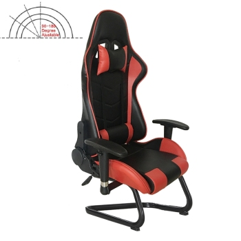 GL0915 Lifting Armrest Adjustable Backrest Gaming Chair Without Wheels