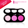 3 color eye shadow palette with cover manufacture outlets 3 color baked eye shadow