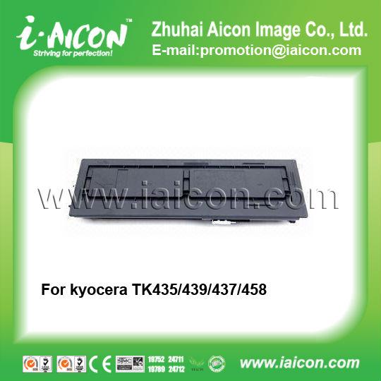 Tk-435/437/439/458 For Kyocera Taskalfa 180 Copier Cartridge