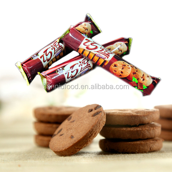 Popular Sanniu Soft Chocolate beans Cookie Biscuit manufacturer