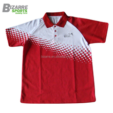 Custom dye sublimation polo shirts