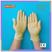 SHINEHOO ESD Top Fit Latex Exam Gloves China Manufactures