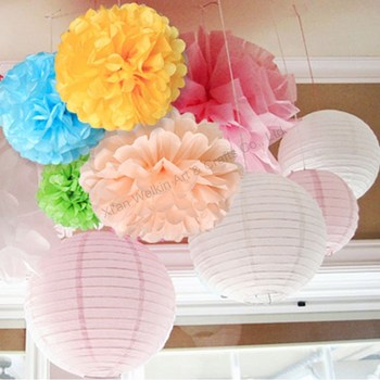 Party Decorations Christmas Big Paper Flowers Pom Poms Buy Christmas Big Paper Flowers Paper Flowers Pom Poms Decorative Christmas Big Paper Flowers