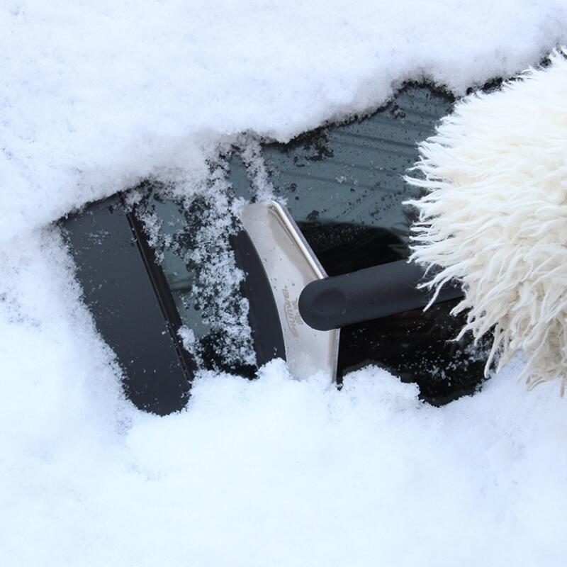 Эйми бесплатная доставка автомобилей зима расширенный нержавеющей стали автомобиль скребок лопата для снега автомобильных инструменты расходных материалов для всех автомобилей
