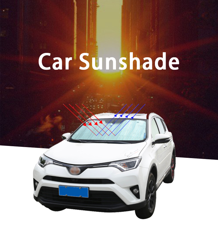 ZY-Q-008 Best selling custom automotive windshield sunscreen