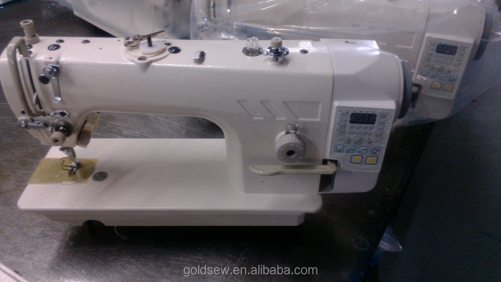 Industrial Lockstitch Sewing Machine Direct Drive Computerized ...