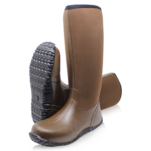 Unisex Waterproof Muck Hunting Field Sport Outdoor Fishing Neoprene Wellington Rubber Boots