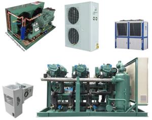Air Cooled Bitzer Condensing Unit, Refrigeration Compressor Unit