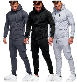 Cheap Price Gym Long Sleeve Sports Wear Tracksuits For Men