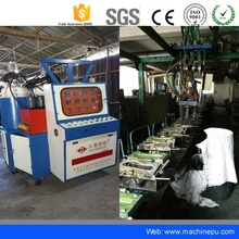 Polyurethane PU Shoe Sole Injection Molding Making Machine