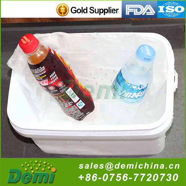 Adsorbent type non toxic beer bottle cooler bag