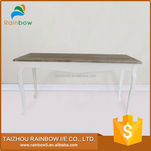 Safe and reliable wooden reclaimed wood kitchen dining table