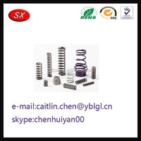 Guangdong Hardware Factory custom SUS 304 Metric heavy-duty extension springs in high quality