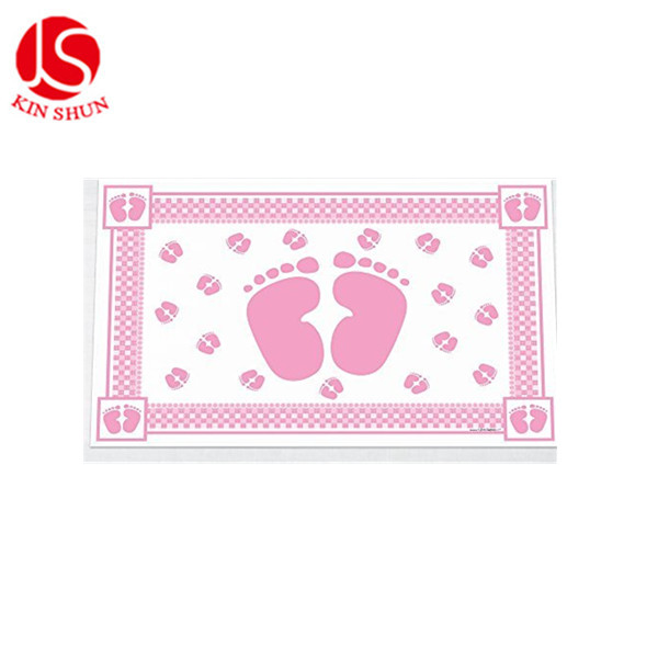 hot sell disposable plastic table cloth wholesale baby placemats