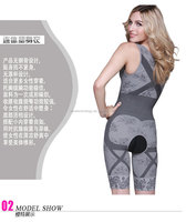 3 Colors S-M L-XL Perfect Underwear Body Shaper Women Bamboo Body Shaper