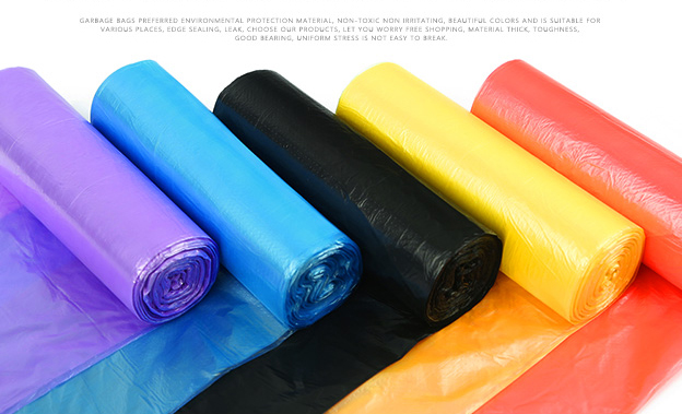 Ucuz Hdpe plastik tişört torbası Rulo