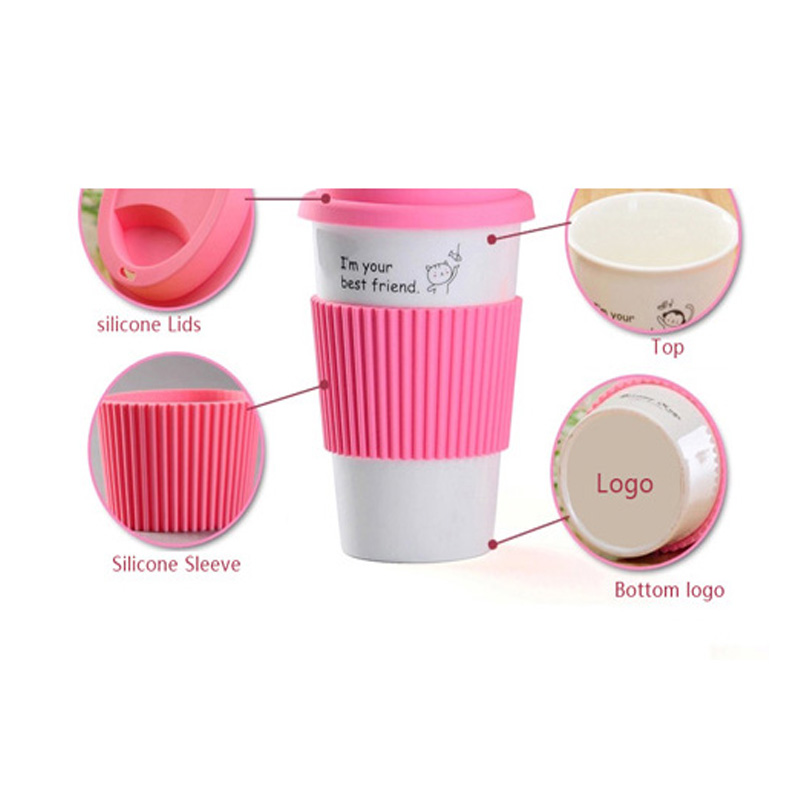 White personalised Classic personalised With Ceramic Lid Mugs And Sleeves Double Color Style Buy Mugs Lid Wall HWD9IYeE2