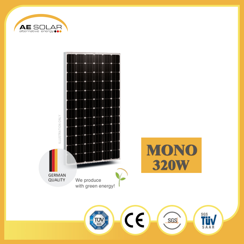 High Quality 320W 325W 340W China Land Mono Solar Heat Panel With Best Machines To Manufacture