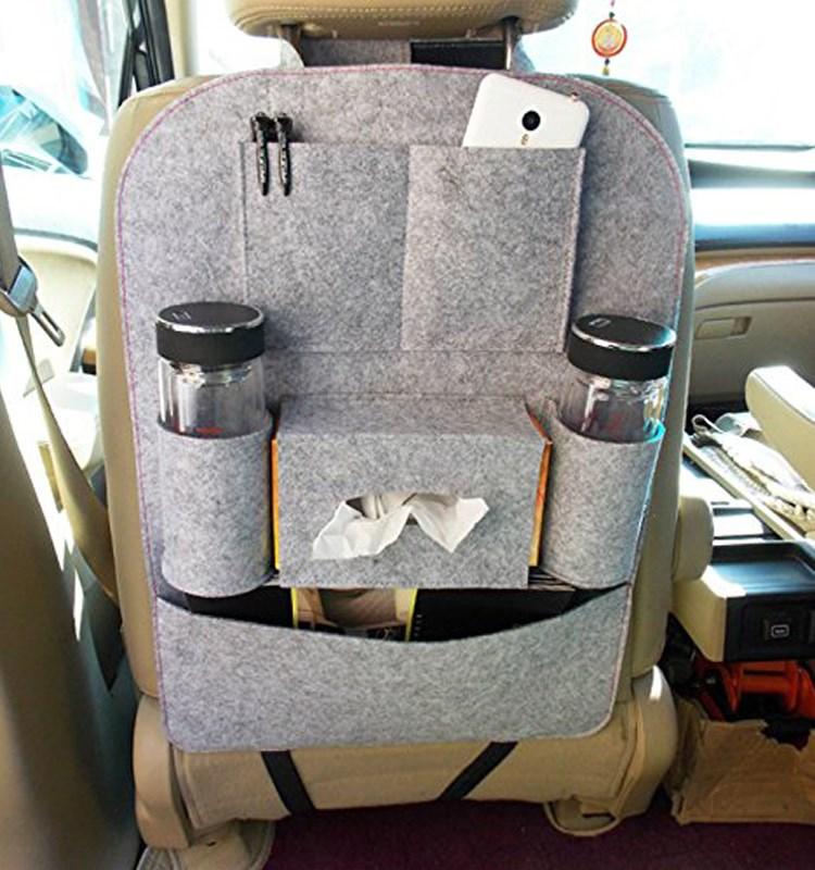Luggage Organizer Car Seat Storage Bag Cover Protector Trash