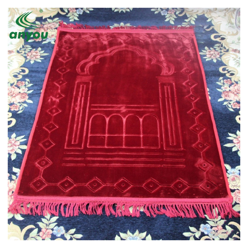 2018 Cheap travel foldable memory foam muslim prayer mat and islam prayer mat