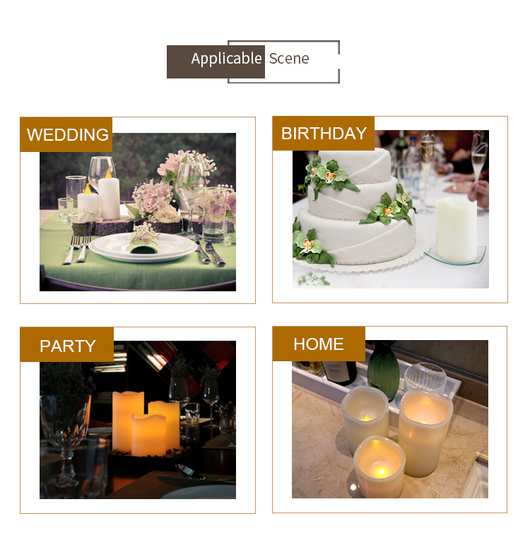 Reusable mini flicker prayer birthday party christmas decorations white battery operated led plastic tealight tea light candles