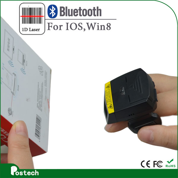 FS01 Wireless Bluetooth Finger Barcode Scanner to reduce errors in the warehouse