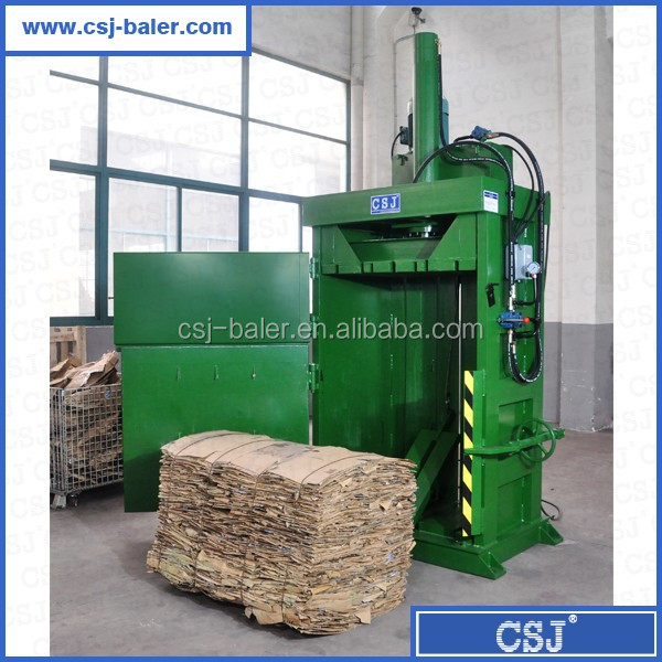 Hydraulic waste paper scrap bailer machine for sale