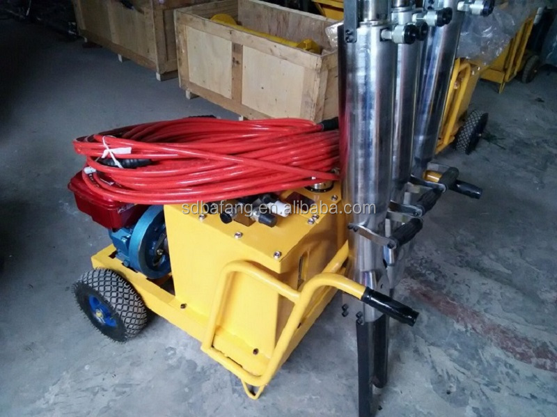 Wholesale Manual Rock Quarry Hydraulic Splitter For Sale