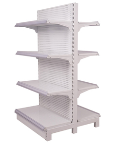 Easy installation storage supermarket shelving retail store shelving