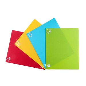 Wholesale board cutting folding plastic flexible chopping cutting boards for kitchen
