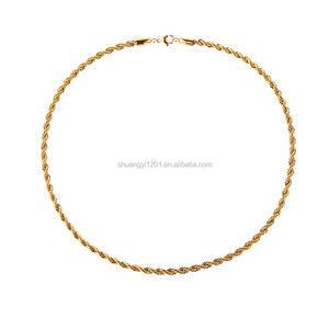 Gold Plating Braided Twist Thin Chain Bangles & Bracelets Cheap Wholesale