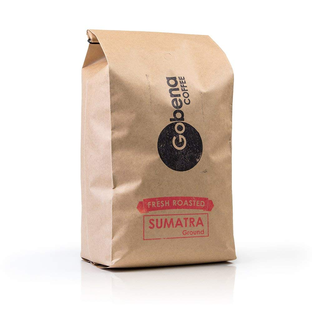Sumatra Mandheling Grade 1 Ground 5 lb Fresh Roasted Specialty Coffee, Dark Roast