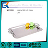Health lead free mirror surface stainless steel fruit tray
