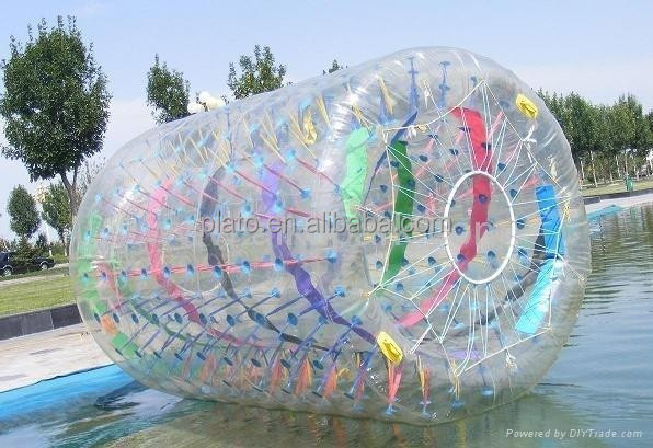 2015 Hot Selling Inflatable water walking ball PVC&TPU Zorb Roller Ball for fun in Summer