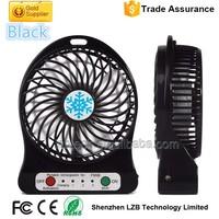 Flexible USB Mini Desktop Fan Rechargable Mini USB Standing Fan