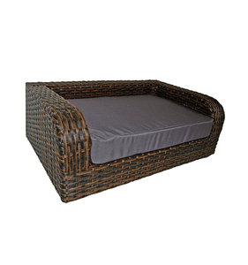 rattan basket pet product decorative dog beds