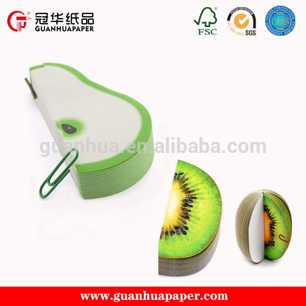Fashion Customized Promotion Sticky Note,Fruit Shaped Sticky Note Pad,Sticky Memo Pad