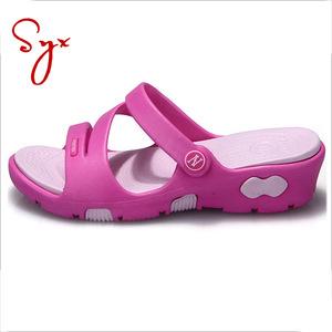 07e9746c6418 Wedge Eva Girls Slippers