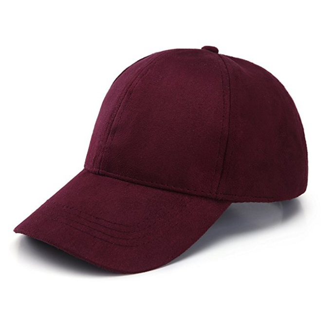 Promotion Suede Adjustable Plain Hat Baseball Cap Wholesale dad hat