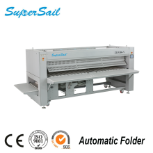 Stainless Steel Fabric Folder Hospital Sheet Folding Machine Automatic Laundry Folding Machine