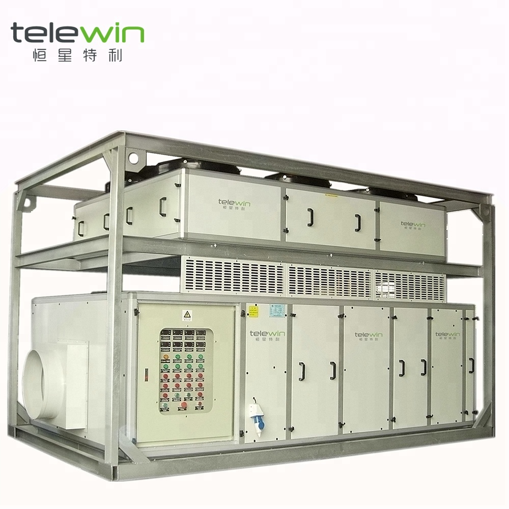 Movable Cooling และความชื้น Air Handling Unit AHU